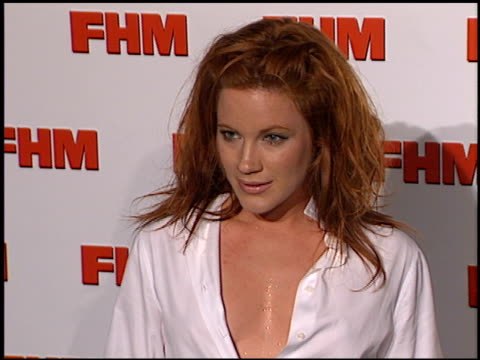 Elisa Donovan at the FHM Magazine 100 Sexiest Women at La Boheme in West Hollywood California on May 17 2001