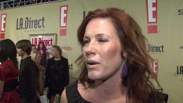 Elisa Donovan on the gift she brought to the event on attending the event and on her favorite thing about the holidays at the LA Direct Magazine's...