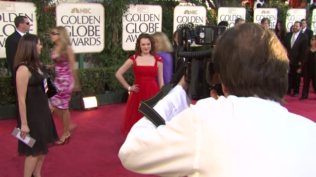 Elisabeth Moss at the 66th Annual Golden Globe Awards Arrivals Part 6 at Los Angeles CA