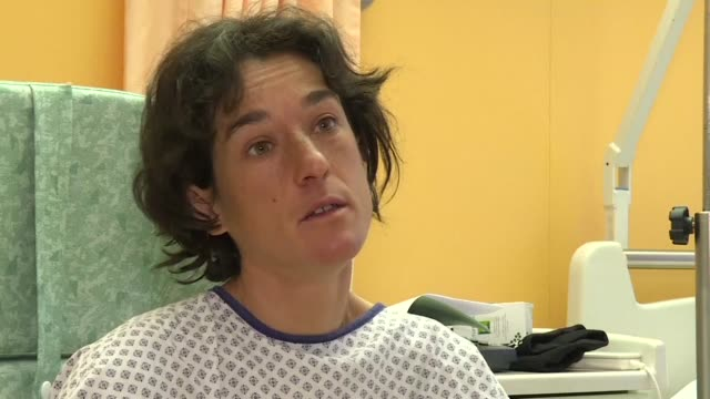Elisabeth Revol speaking exclusively to AFP from a hospital in France's Haute Savoie region where doctors are assessing whether she will require...