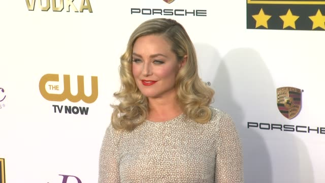 elisabeth rohm at 19th annual critics' choice movie awards - arrivals at the barker hanger on in santa monica, california. - critics' choice movie awards stock videos & royalty-free footage