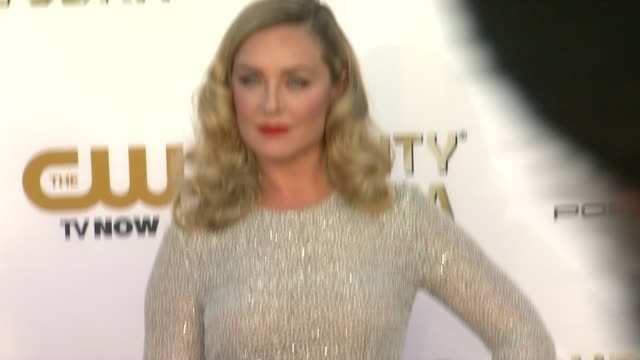 Elisabeth Rohm at 19th Annual Critics' Choice Movie Awards Arrivals at The Barker Hanger on in Santa Monica California