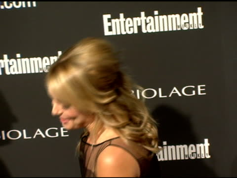 stockvideo's en b-roll-footage met elisabeth rohm at the entertainment weekly's viewing party for 2006 academy awards at elaine's in new york, new york on march 5, 2006. - entertainment weekly