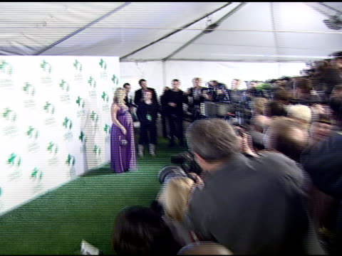 elisabeth rohm at the global green usa's 5th annual preoscar party at null in hollywood california on february 20 2008 - pre party stock videos and b-roll footage