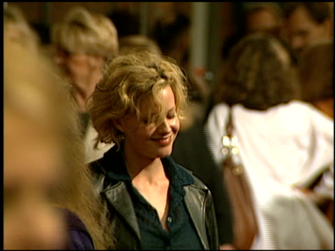 elisabeth shue at the 'addicted to love' premiere at the mann festival theater in westwood, california on may 12, 1997. - elisabeth shue stock videos & royalty-free footage