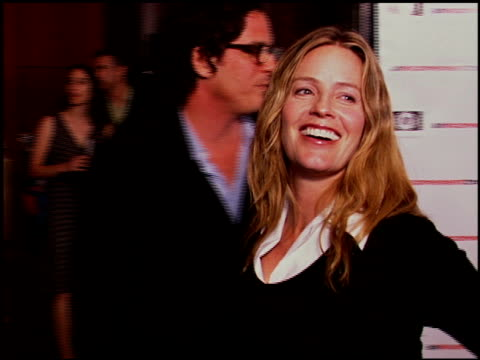 elisabeth shue at the 'an inconvenient truth' premiere at director's guilld of america in hollywood, california on may 16, 2006. - elisabeth shue stock videos & royalty-free footage