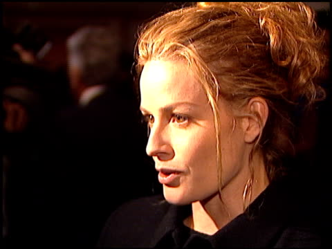 elisabeth shue at the los angeles film critics association awards at the bel age hotel in west hollywood, california on january 17, 1996. - elisabeth shue stock videos & royalty-free footage