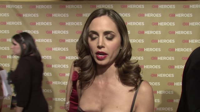 eliza dushku on what she's wearing, being a part of the evening and her personal connection to one of the honorees, who her hero was growing up, how... - tribute event stock videos & royalty-free footage