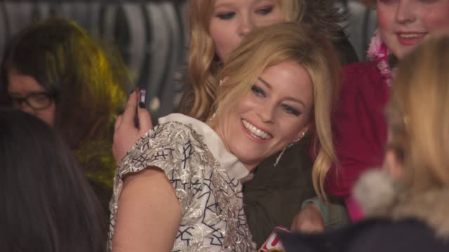 Elizabeth Banks at 'The Hunger Games Mockingjay Part 2' UK Film Premiere at Odeon Leicester Square on November 05 2015 in London England