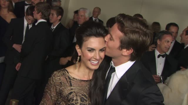 elizabeth chambers armie hammer at the 63rd annual directors guild of america awards at hollywood ca - armie hammer stock videos & royalty-free footage