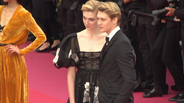 Elizabeth Debicki Joe Alwyn at 'Solo A Star Wars Story' Red Carpet Arrivals The 71st Annual Cannes Film Festival on May 15 2018 in Cannes France