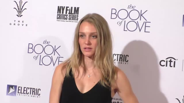 "elizabeth gilpin at the ""the book of love"" los angeles premiere at pacific theatre at the grove on january 10, 2017 in los angeles, california. - the grove los angeles stock videos & royalty-free footage"
