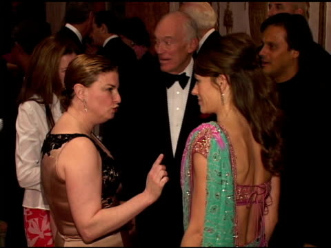 elizabeth hurley at the breast cancer research foundations annual hot pink party at the waldorf astoria in new york new york on april 20 2005 - hot pink stock videos and b-roll footage