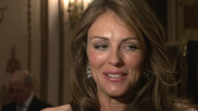 elizabeth hurley at the hot pink party goes cool at the waldorf astoria in new york new york on april 24 2007 - hot pink stock videos and b-roll footage