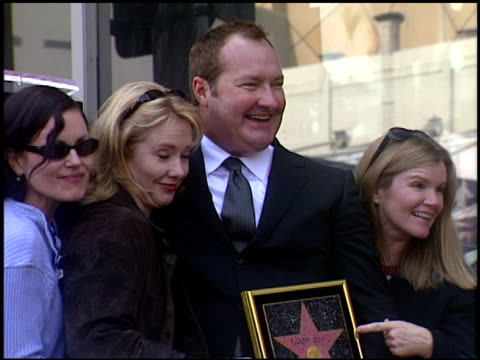 elizabeth mcgovern at the dediction of randy quaid's walk of fame star at the hollywood walk of fame in hollywood, california on october 7, 2003. - randy quaid stock videos & royalty-free footage
