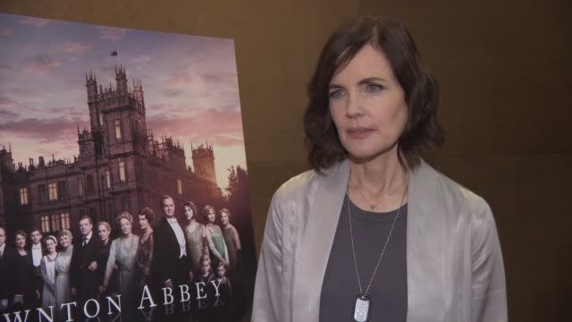 INTERVIEW Elizabeth McGovern on being in the role for so long Americans Love for the show Downton film having more free time recording music at...