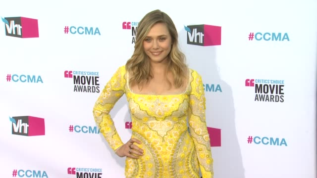 Elizabeth Olsen at 17th Annual Critics' Choice Movie Awards on 1/12/12 in Hollywood CA