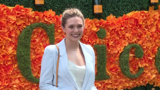 Elizabeth Olsen at NinthAnnual Veuve Clicquot Polo Classic at Liberty State Park on June 4 2016 in Jersey City New Jersey