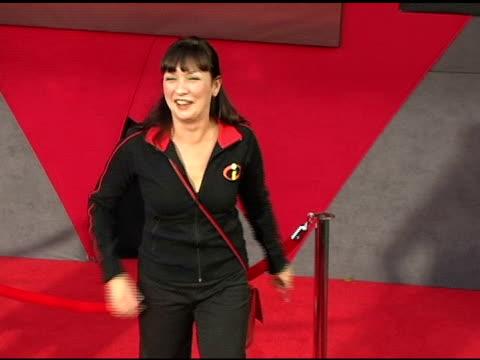 elizabeth pena at the 'the incredibles' premiere at the el capitan theatre in hollywood, california on october 25, 2004. - el capitan theatre stock videos & royalty-free footage