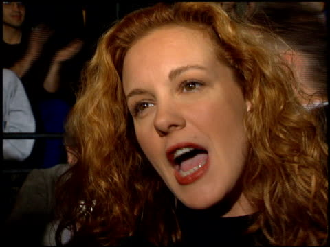 elizabeth perkins at the 1995 people's choice awards at universal studios in universal city california on march 5 1995 - 1995 stock-videos und b-roll-filmmaterial