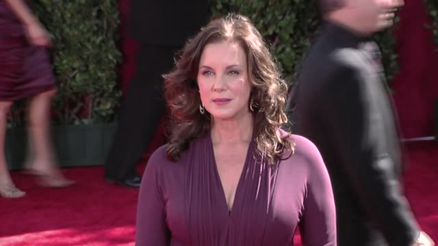 elizabeth perkins at the 61st annual primetime emmy awards - arrivals part 3 at los angeles ca. - annual primetime emmy awards stock videos & royalty-free footage