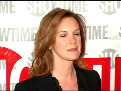 elizabeth perkins of 'weeds'' at the star-studded tca press tour party hosted by showtime at universal studios in universal city, california on... - showtime video stock e b–roll