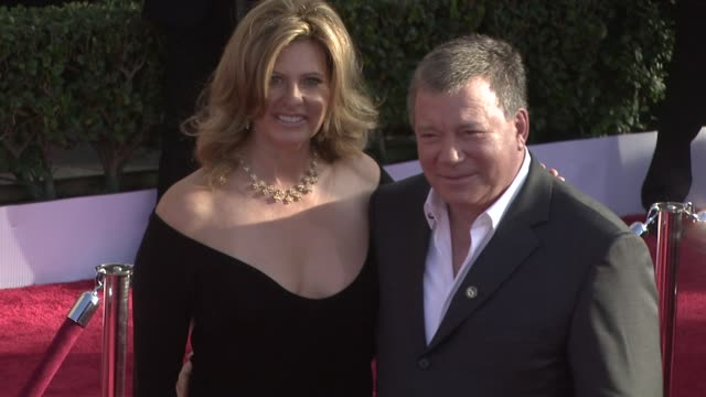 elizabeth shatner, william shatner at the 15th annual screen actors guild awards at los angeles ca. - william shatner stock videos & royalty-free footage
