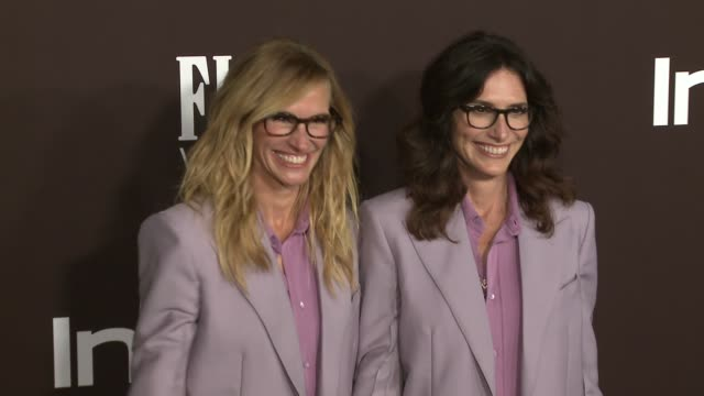 vídeos de stock, filmes e b-roll de elizabeth stewart and julia roberts at 2018 insyle awards at the getty center on october 22, 2018 in los angeles, california. - julia roberts