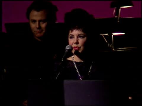 Elizabeth Taylor at the American Cinema Awards at the Biltmore Hotel in Los Angeles California on November 2 1996