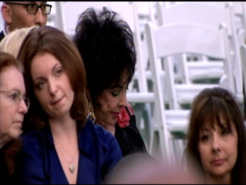 Elizabeth Taylor at the Michael Jackson Laid To Rest at Los Angeles CA