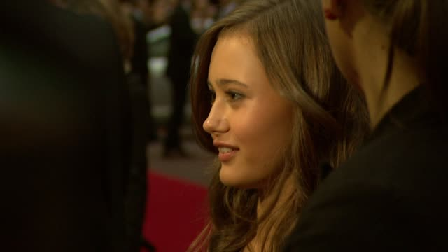 Ella Purnell at the Never Let Me Go Premiere 54th BFI London Film Festival at London England