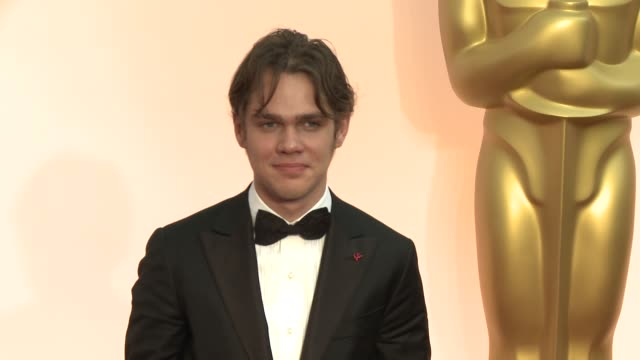 Ellar Coltrane at the 87th Annual Academy Awards Arrivals at Dolby Theatre on February 22 2015 in Hollywood California