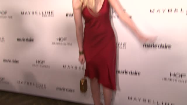 Elle Fanning at Marie Claire Celebrates May Cover Stars in Los Angeles CA