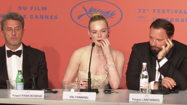 INTERVIEW Elle Fanning on her experience on being on the Cannes Jury viewing cinema in a different way 'Closing Ceremony Press Conference ' The 72nd...