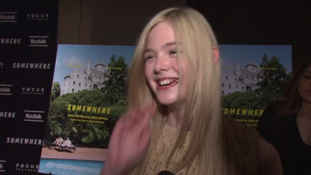 Elle Fanning on loving working with Stephen Dorff On bonding with him before shooting how he picked her up from school and took her to Pinkberry at...