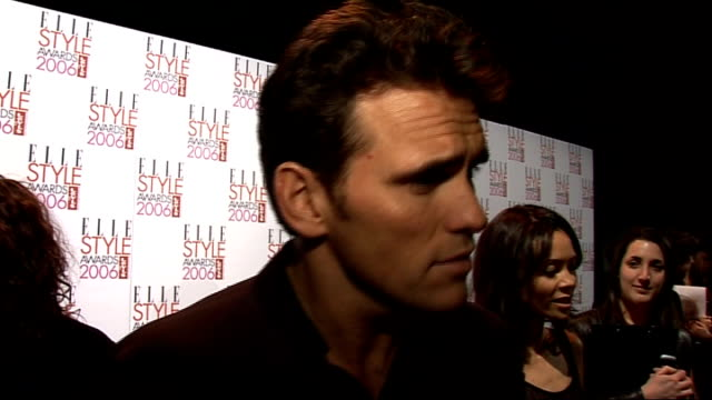interviews matt dillon interview sot on his style / on his oscar nomination / on how he wishes he wasn't the only one from crash to have been... - actor stock videos & royalty-free footage