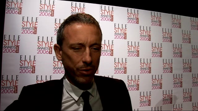 elle style awards 2006: interviews; patrick cox interview sot - here to present elle award for style icon / on kylie minogue as his style icon / on... - mischa barton stock videos & royalty-free footage