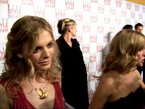 Arrivals / interviews Emilia Fox interview SOT celebrity style/ size zero fashions prefer womanly figure