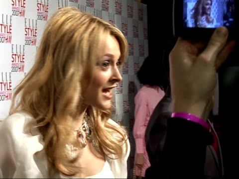 arrivals / interviews fearne cotton arrival and talking to journalists - fearne cotton stock videos & royalty-free footage