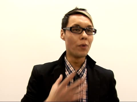 Arrivals / interviews Gok Wan interview SOT Likes award ceremony / New designs all about sexuality and body contours / Talks about success of 'How to...