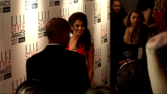red carpet interviews emilia fox talking to press / cheryl cole posing for press / laura bailey posing for and talking to press / thandie newton... - thandie newton stock videos & royalty-free footage