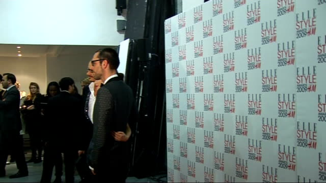 Arrivals and interviews ****FLASH Anna Friel posing with Viktor Horsting and Rolf Snoeren