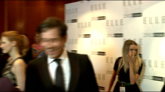 Elle Style Awards in London INT Jessica Chastain General views Dizzie Rascal SOT On Adele 'brilliant for british music for her its positive always...