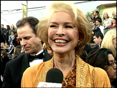 Ellen Burstyn at the 2001 Screen Actors Guild SAG Awards arrivals at the Shrine Auditorium in Los Angeles California on March 11 2001