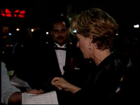 ellen degeneres at the 1994 emmy awards post show at the pasadena civic auditorium in pasadena california on september 11 1994 - ellen degeneres stock videos & royalty-free footage