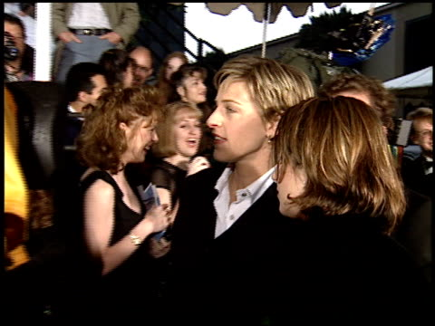 ellen degeneres at the 1995 people's choice awards at universal studios in universal city california on march 5 1995 - ellen degeneres stock videos & royalty-free footage