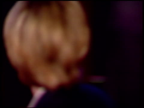 ellen degeneres at the 1997 academy awards vanity fair party at the shrine auditorium in los angeles, california on march 24, 1997. - 第69回アカデミー賞点の映像素材/bロール