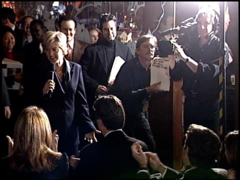 Ellen DeGeneres at the 2001 Emmy Awards press room at the Shubert Theater in Century City California on November 4 2001
