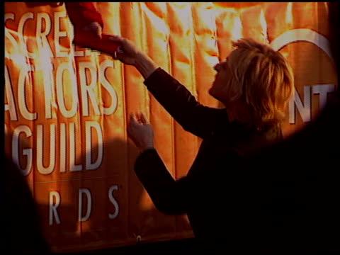 Ellen DeGeneres at the 2005 Screen Actors Guild SAG Awards at the Shrine Auditorium in Los Angeles California on February 5 2005