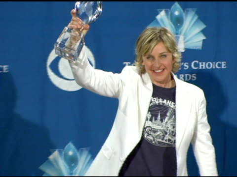 Ellen DeGeneres at the 2006 People's Choice Awards press room at the Shrine Auditorium in Los Angeles California on January 10 2006